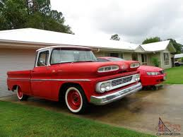 100 1960 Apache Truck Chevrolet C10 Short Wheel Base Pick UP In Beerwah