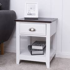End Beside CoffeeTable Nightstand W Storage Drawer Furniture