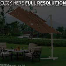 Square Patio Umbrella With Netting by Square Offset Patio Umbrella With Netting Home Outdoor Decoration