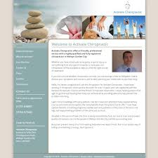 Activate Chiropractic HealthHosts Web Design For Therapists
