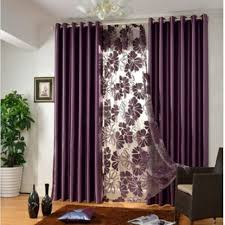 Elegant Contemporary bedroom curtains in Solid Color for Privacy