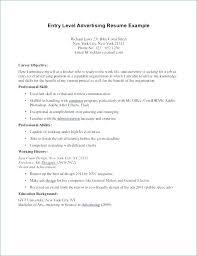 Resume Career Profile Examples Change