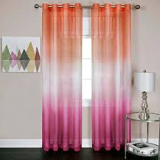 Target Pink Window Curtains by Rainbow Single Grommet Curtain Panel Achim Target