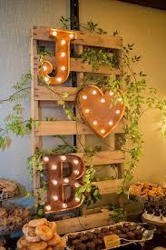 DIY Wedding Decorations Dessert Table