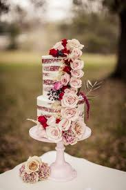 Wedding Ideas By Colour Red Cakes