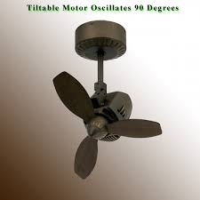 oscillating ceiling fan mustang by troposair oil rubbed bronze