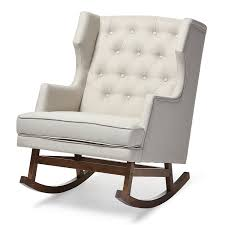 wingback chair wingback rocker and recliner baby relax mikayla