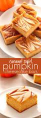 Pumpkin Marble Cheesecake Chocolate by Caramel Swirl Pumpkin Cheesecake Bars Crunchy Creamy Sweet