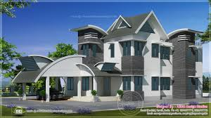 100 Contemporary Home Designs Photos 1829 Sq Ft Unique Design Kerala Plans