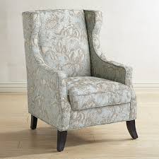 alec blue floral wing chair pier 1 imports