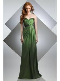 long green bridesmaid evening formal dresses 501011