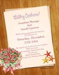 Top 10 Beach Wedding Invitation Wordings