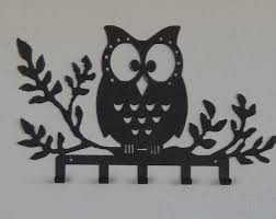 Key HolderOwl Rack Organizerjewelry Holder Walldecorative Owls