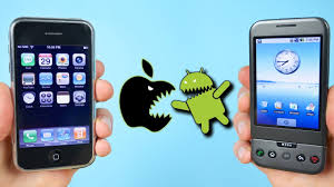 First iPhone vs First Android Phone iOS 1 0 vs Android 1 0