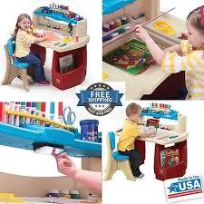 Art Master Activity Desk Art by Sturdy Child Art Station Master Desk Kids Play Activity Table