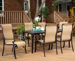 Brigantine 7-Piece Rust-Free Aluminum Outdoor Patio Dining Set With 6  Dining Chairs And Aluminum Rectangular Dining Table, BRIGANTINE7PC Outdoor Resin Ding Sets Youll Love In 2019 Wayfair Mainstays Alexandra Square 3piece Outdoor Bistro Set Garden Bar Height Top Mosaic Small Alinium And Tall Indoor For Home Bunnings Chairs Metric Metal Big Modern Patio Set Enginatik Patio Sets Tables Tesco Grey Sandstone Sainsbur Tableware Plans Wicker Hartman Fniture Products Uk Wonderful High Ding Godrej Squar Glass Composite By Type Trex