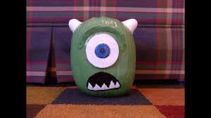 Mike Wazowski Pumpkin Carving Patterns by Pumpkin Painting Painting A Mike Wazowski Pumpkin From Monsters