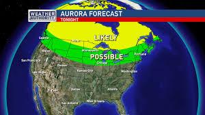 Aurora Borealis Northern Lights Watch Tonight