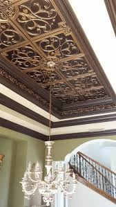 Decorative Ceiling Tiles 24x24 by A Tray Ceiling Decor All You Need Is Some Ceiling Tiles And Crown