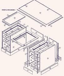 pdf wood slab desk construction diy free plans download wood bed