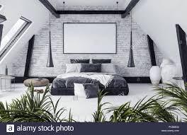 100 Loft Style Apartment Modern Openplan Apartment In Attic Loft Style 3d Render