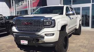 100 Build A Gmc Truck Custom 2017 GMC Sierra 1500 BDS Lift Fuel Wheels Push Bar