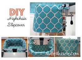 Chair Slip Cover Pattern by Nalle U0027s House Highchair Slipcover How To