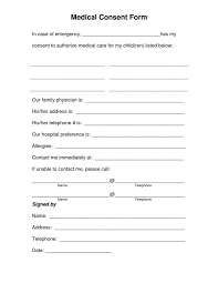 Download Free Child Travel Consent Form Template Baskanai Top