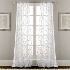 Dkny Curtain Panels Uk by Floral Curtains U0026 Drapes You U0027ll Love Wayfair