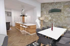 cuisine agencement agencement de cuisine élégant cuisine ouverte mur en agence