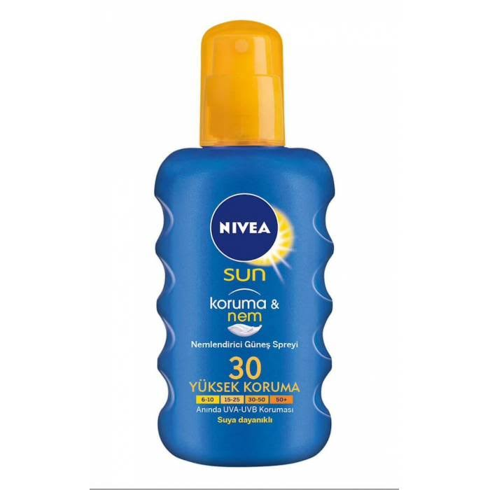 Nivea Protect and Moisture SPF 30 Sun Spray - 200ml