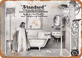 de yohoba 1905 metallschilder für badezimmer