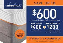 Tempurpedic Black Friday Deals : August 2018 Deals