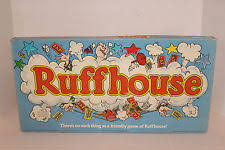 Vintage 1980 RUFFHOUSE Board Game Parker Brothers COMPLETE