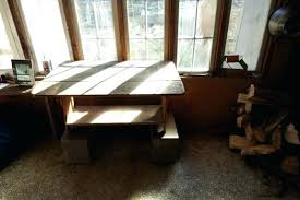 Homemade Dining Table With Bench