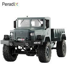 100 4 Wheel Drive Rc Trucks FY001 RC Military Truck Remote Control Off Road RC