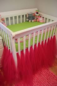 Bratt Decor Crib Skirt by Best 20 Tulle Crib Skirts Ideas On Pinterest Crib Skirts Tutu