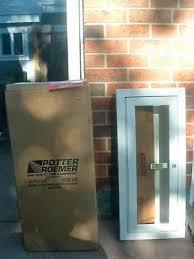 Kidde Semi Recessed Fire Extinguisher Cabinets by Kidde 468045 Potter Roemer Semi Recessed 10 Pound Fire
