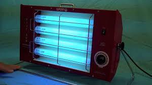 Uv Desk Lamp Vitamin D by The Fiji Sun Tanning Lamp From Sperti Sunlamps Youtube