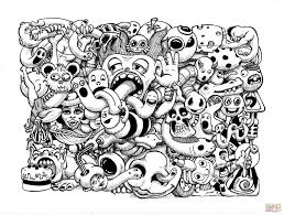 Download Coloring Pages Doodle Art Free
