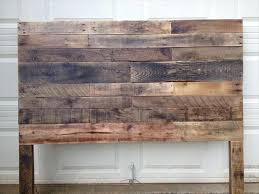 If You Really Like It In Wood Medium Then Here This DIY Pallet King Size Headboard That Is An Inspiring Handmade Design Made Of Salvaged Pallets