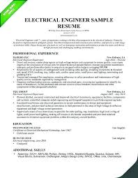 Electrician Apprentice Resume Sample Electrical Examples