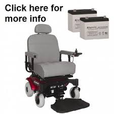 replacement batteries for all shoprider power wheelchairs