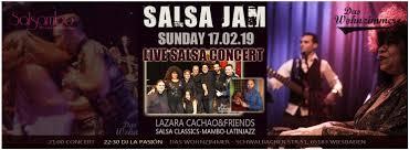 17 02 2019 salsajam live konzert dj la pasión das