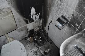 pol ni heizlüfter verursacht brand im badezimmer