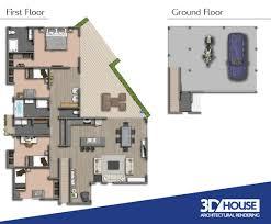 Building Floor Plan Colors Real Estate Floor Plans 3d House Sunshine Coast Queensland
