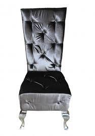 casa padrino barock esszimmer stuhl grau silber designer stuhl luxus qualität hochlehner hochlehnstuhl gh barockgroßhandel de