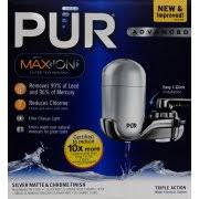 Pur Advanced Faucet Water Filter Replacement by Pur Advanced Faucet Water Filter Silver Fm 4100b Walmart Com