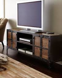 My New TV Stand Industrial Entertainment Chest
