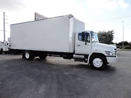 100 26 Ft Truck 2016 Used HINO 8A FT DRY BOX TRUCK CARGO TRUCK